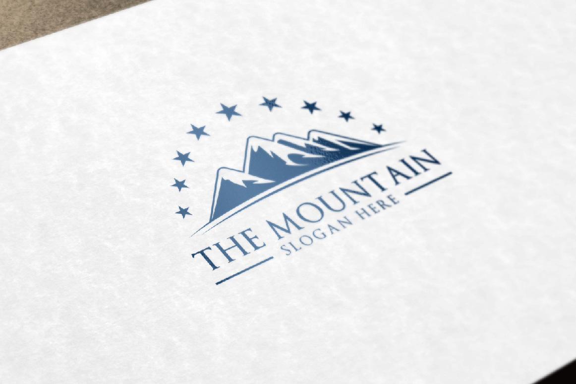 Mountain, summit logo template example image 6