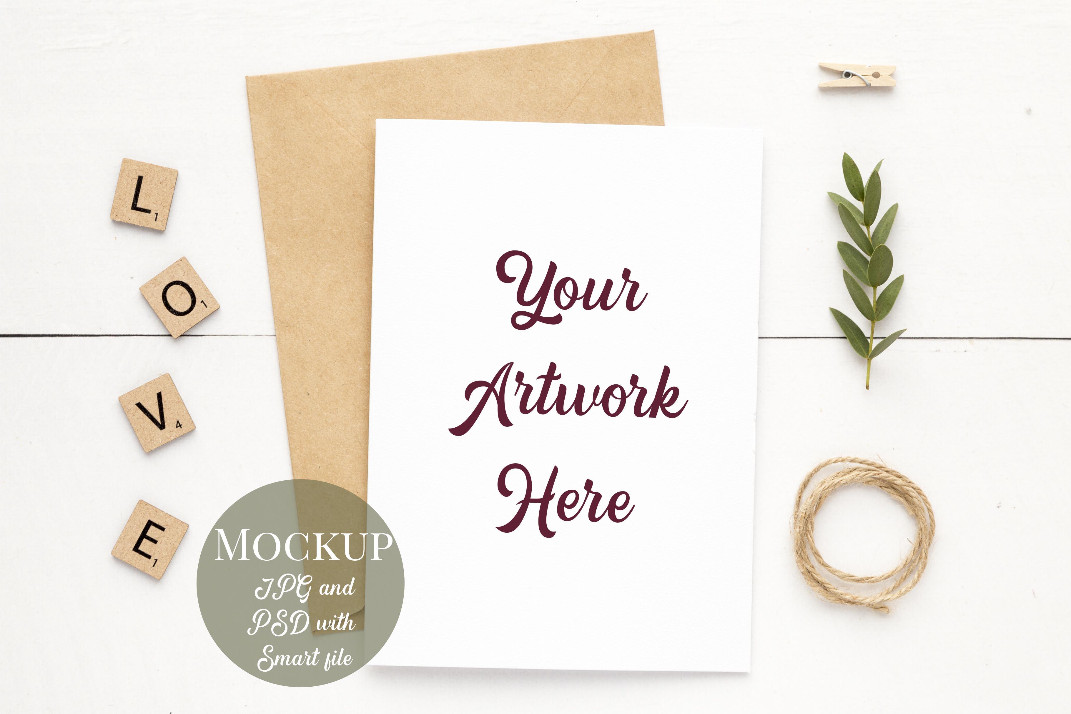 Bundle of 8 Mockups - Card, Frame and Mug Mockups example image 8