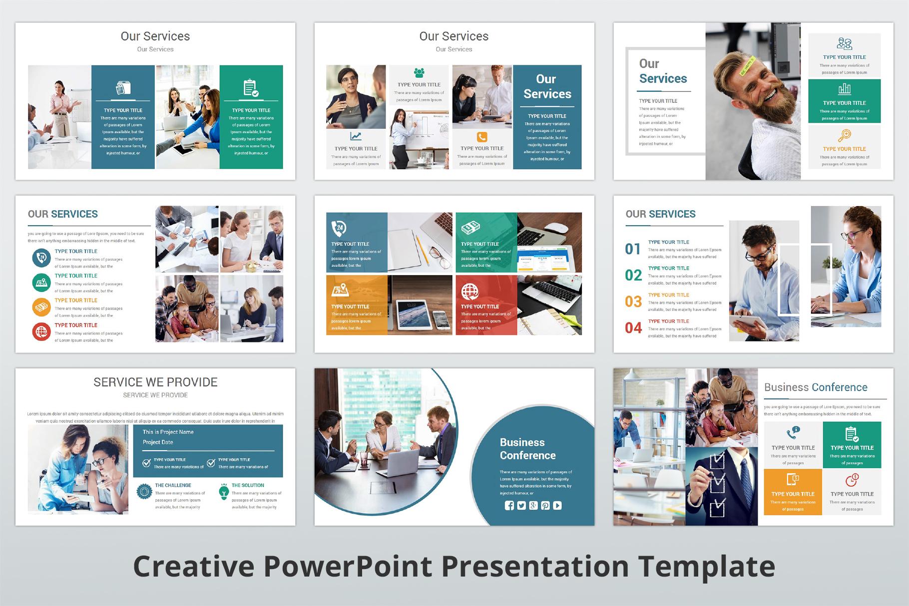 Creative multipurpose PowerPoint Presentation Template example image 8