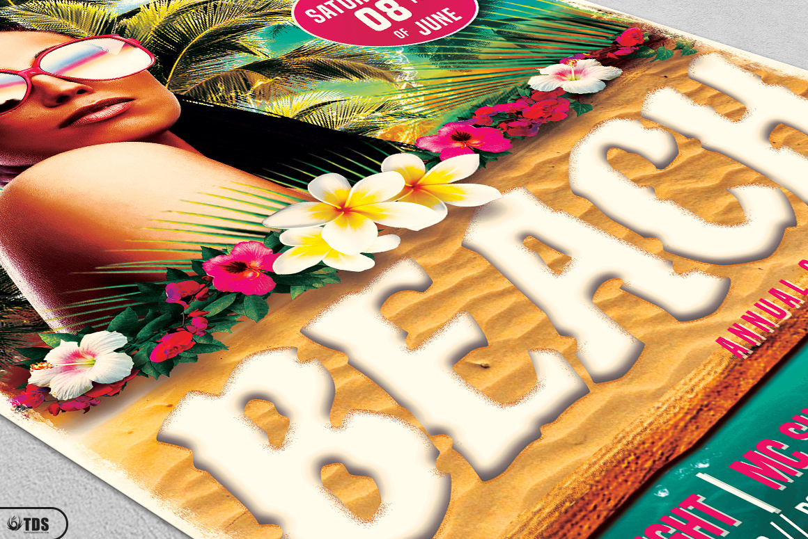Beach Party Flyer Bundle V2 example image 10
