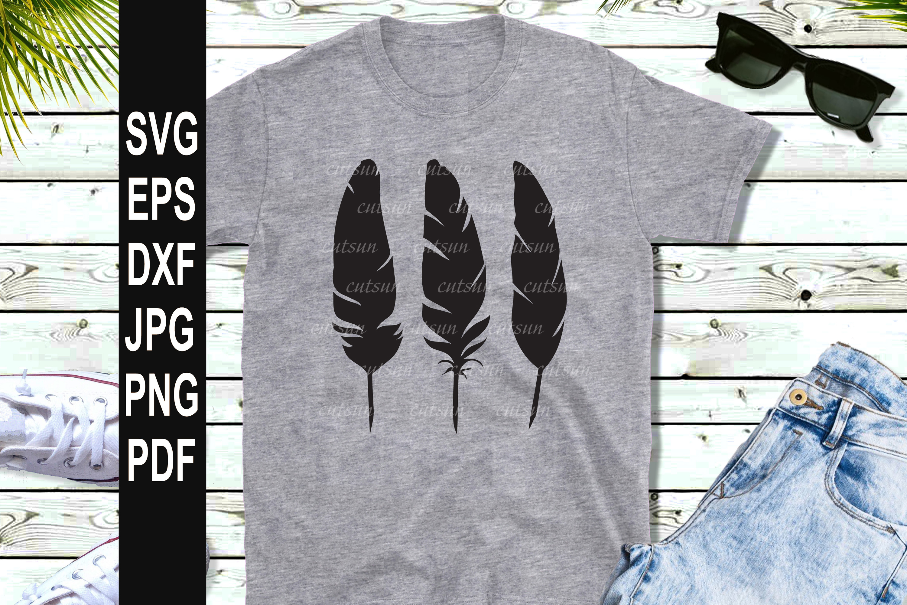 FEATHERS SVG example image 2