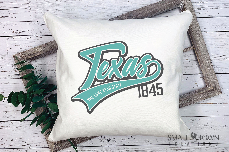 Texas, The Lone Star State slogan, logo, PRINT, CUT & DESIGN example image 3