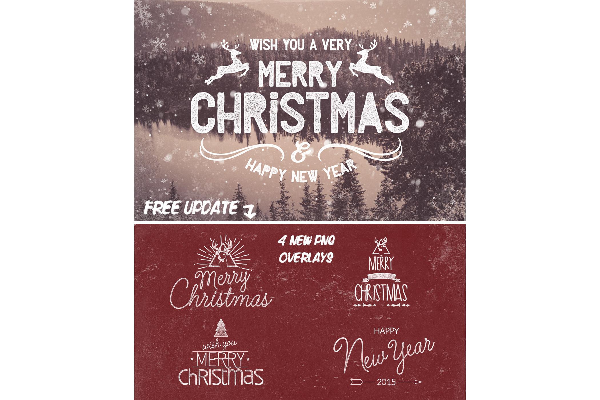 Christmas Photo Overlays example image 6
