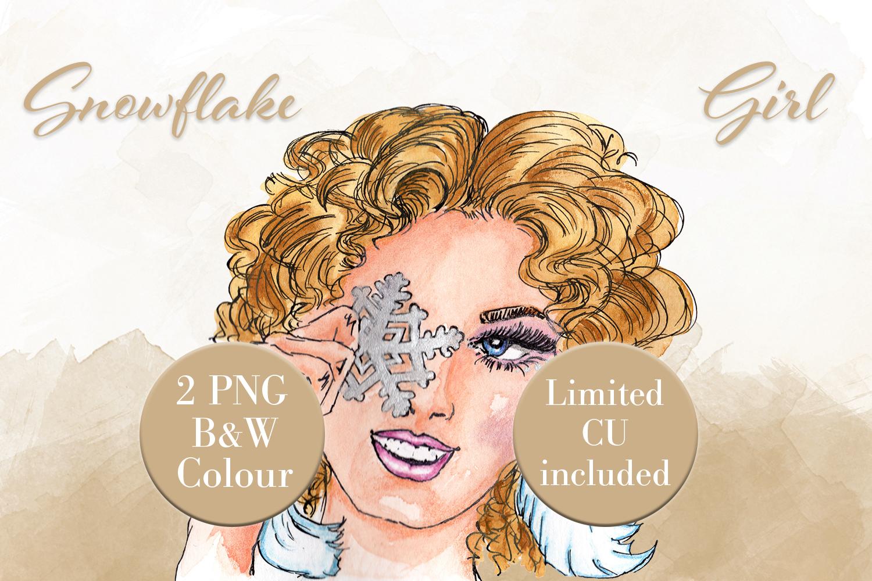 Snowflake Girl example image 1