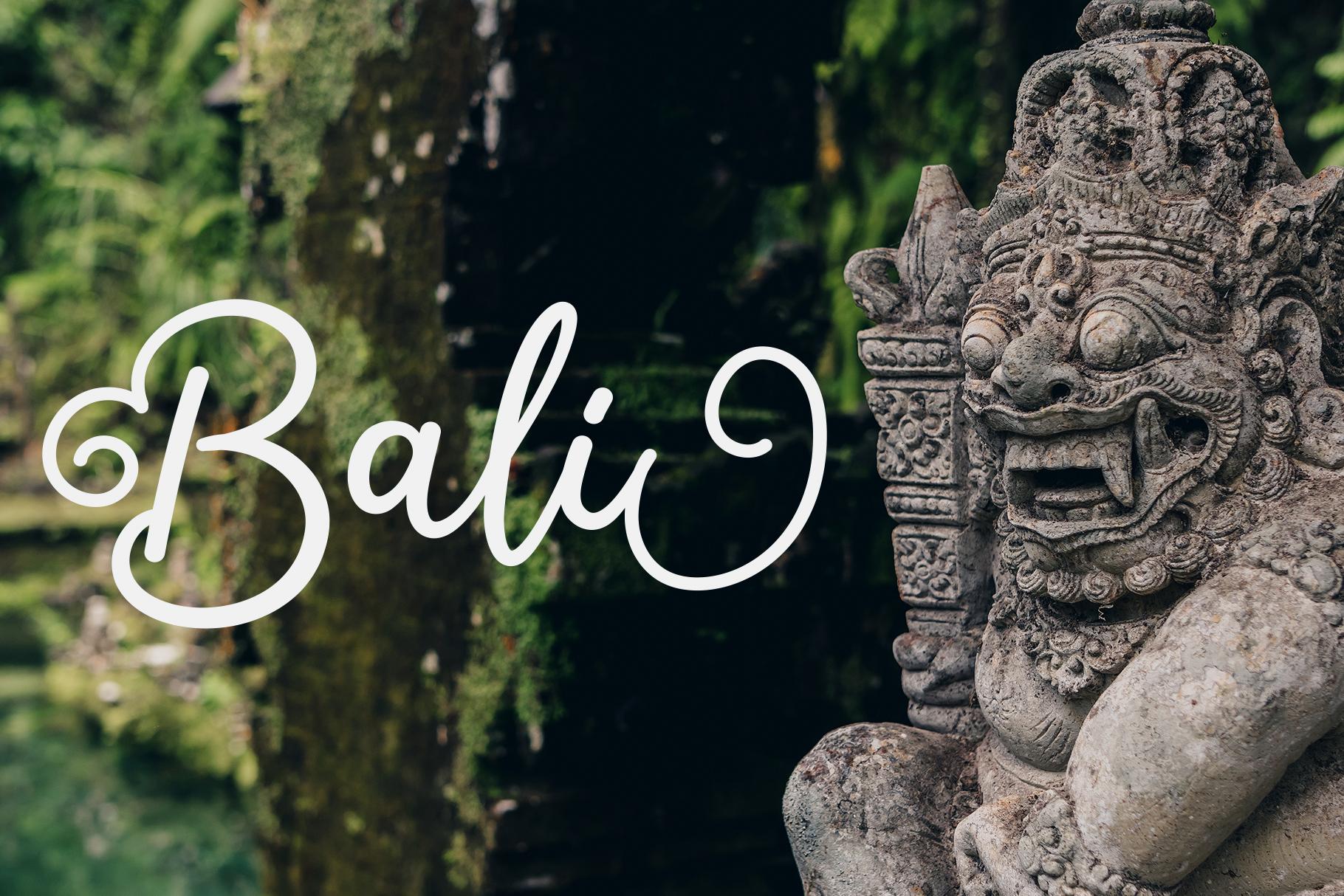 Salahe - a funcy cursive font example image 6