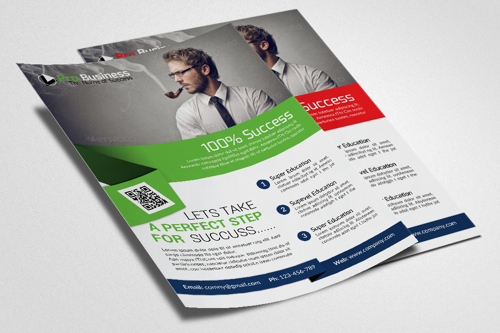 Corporate Flyer Psd example image 3