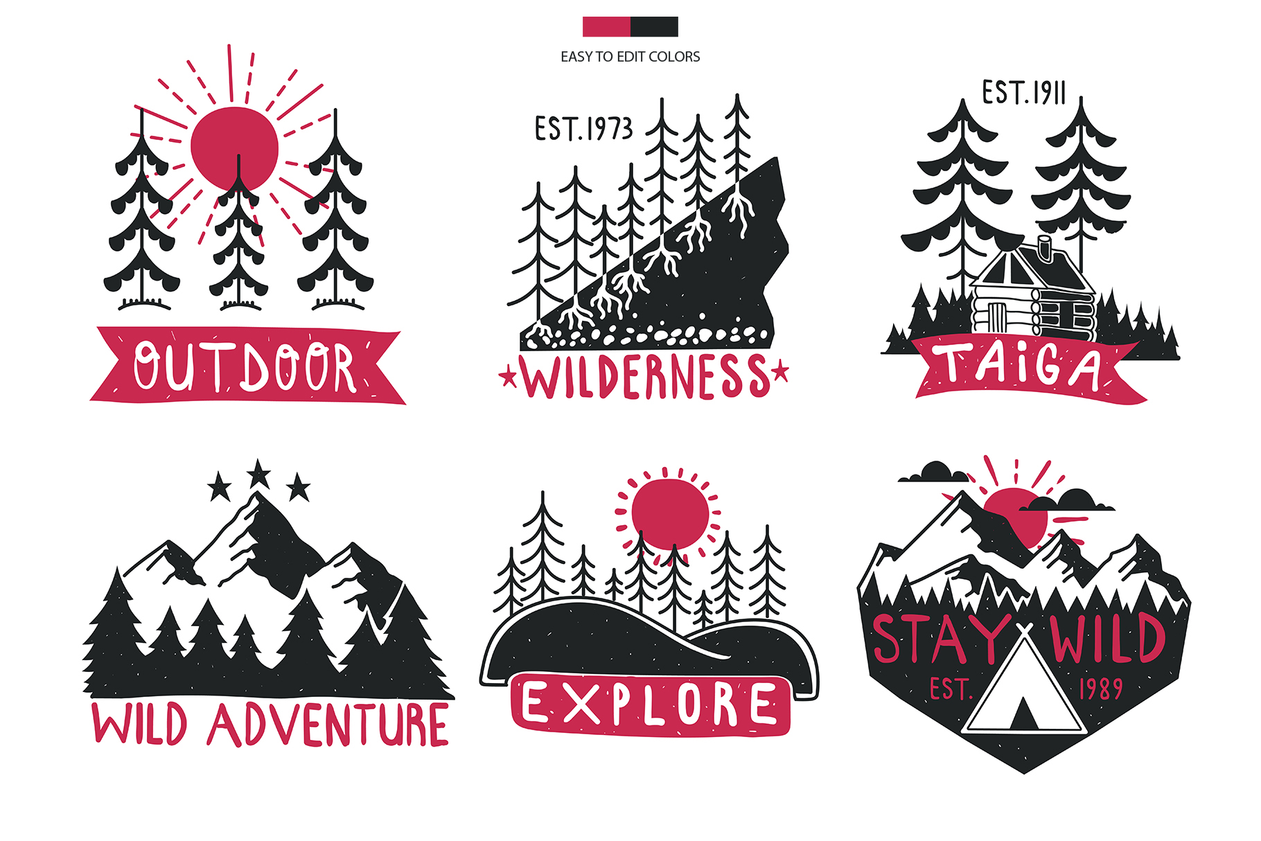 Outdoor Logo Badges, Part II example image 4