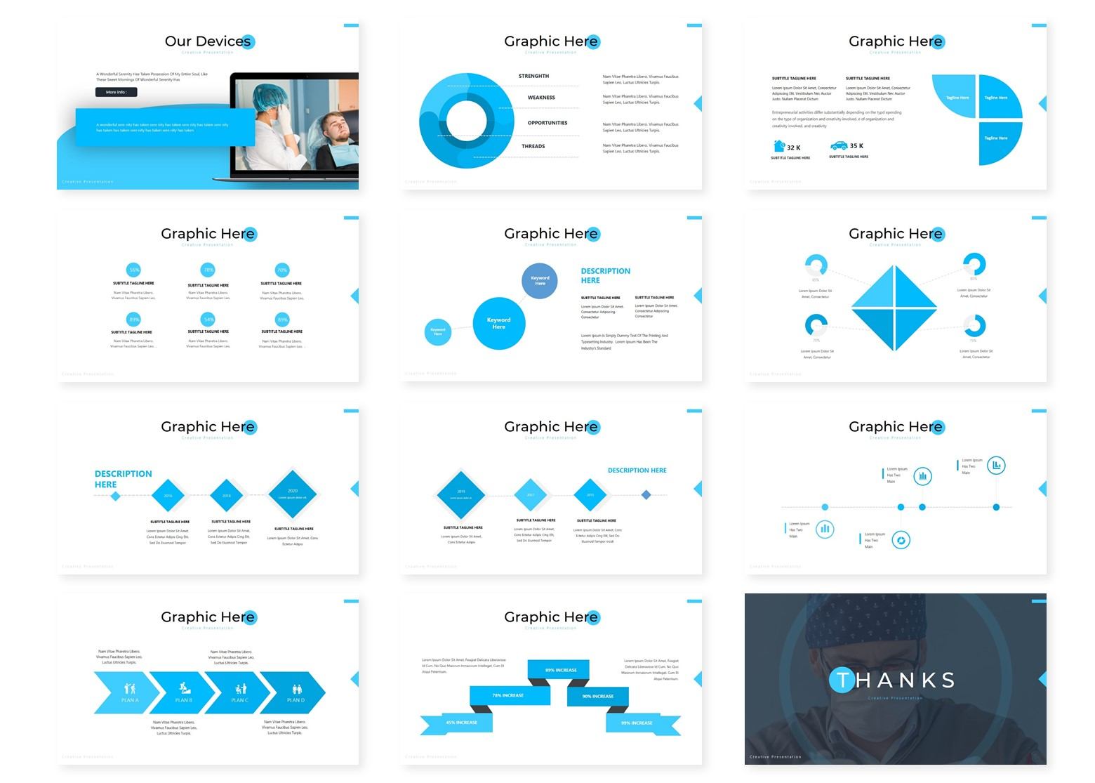 Medicaz | Powerpoint, Keynote, GoogleSlides Template example image 6
