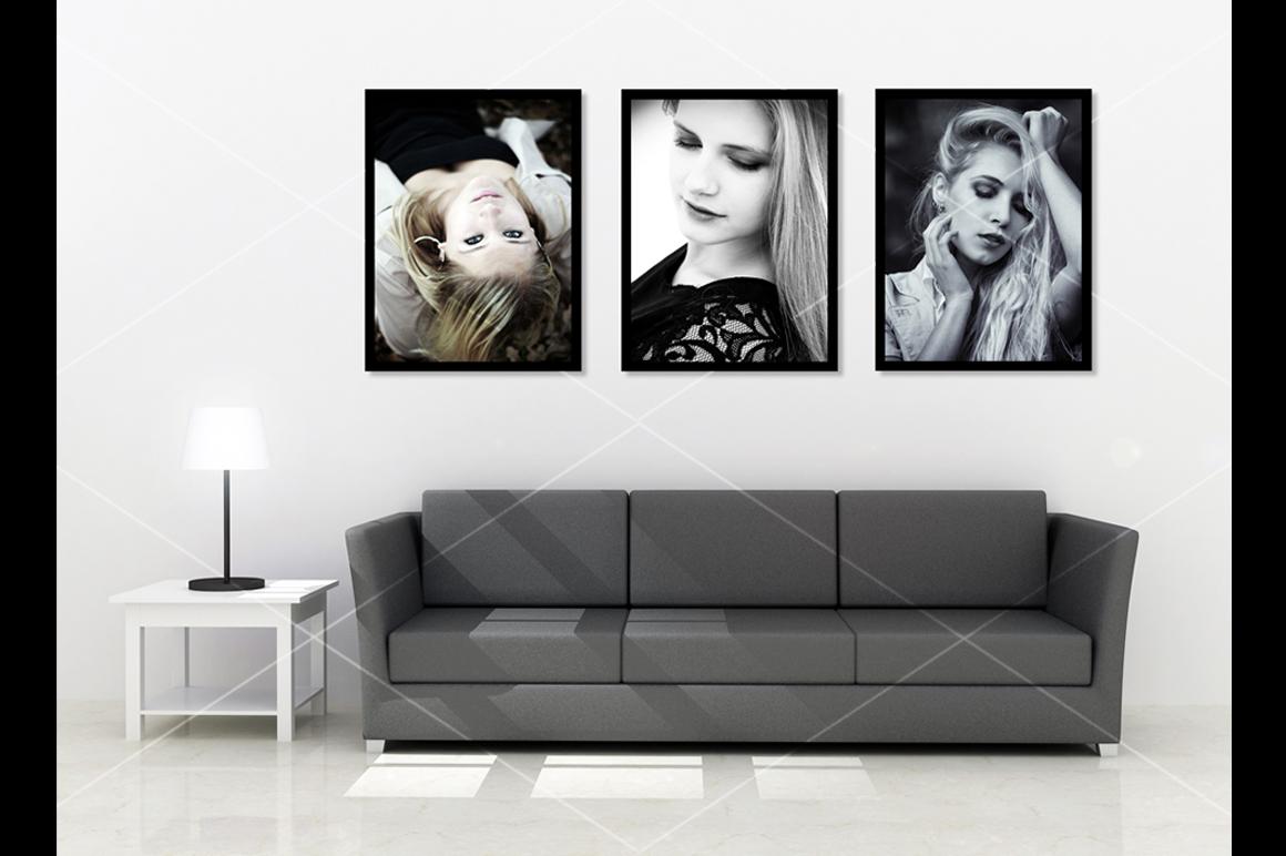 Wall art Mockup v5 example image 1