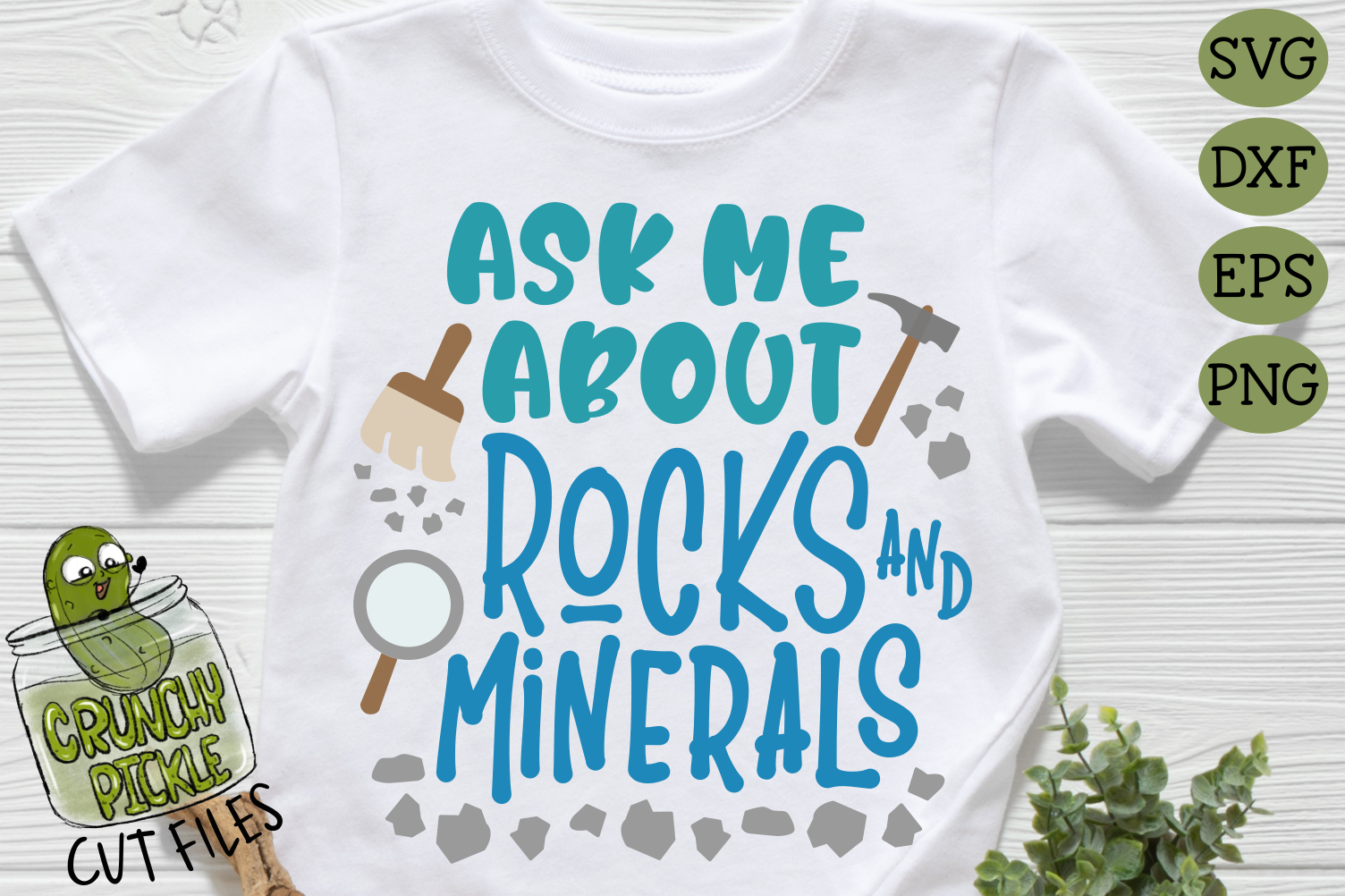 Ask Me About Rocks and Minerals SVG example image 3