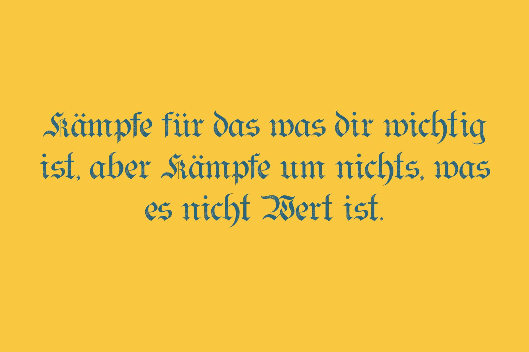 Bielefeld Typeface font example image 3
