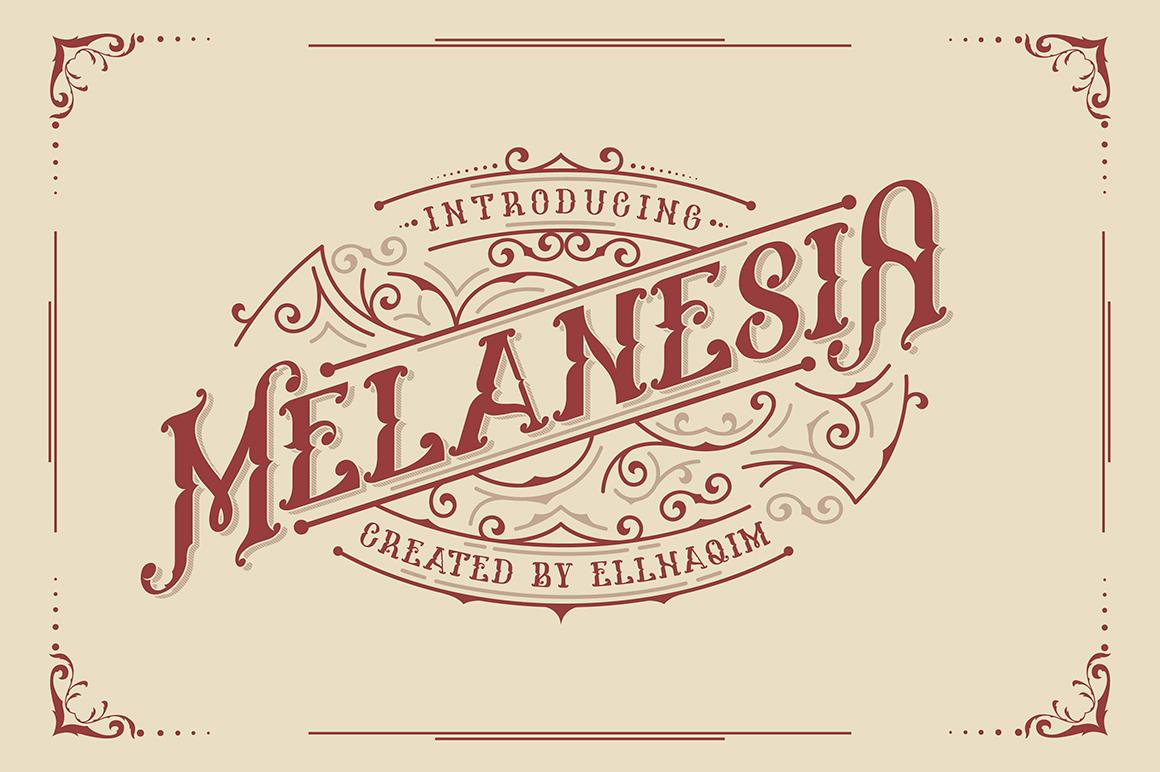Melanesia Font example image 1