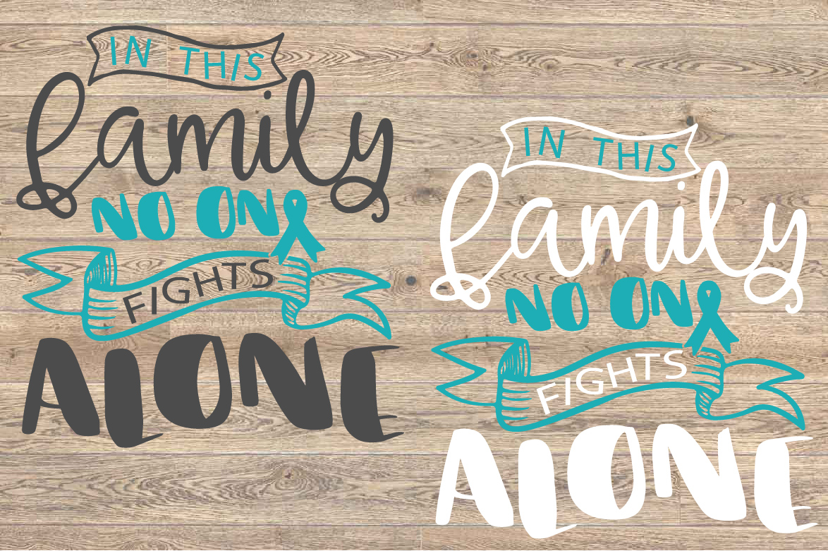 In this family no one fights alone Survivor Ovarian Cervical example image 2