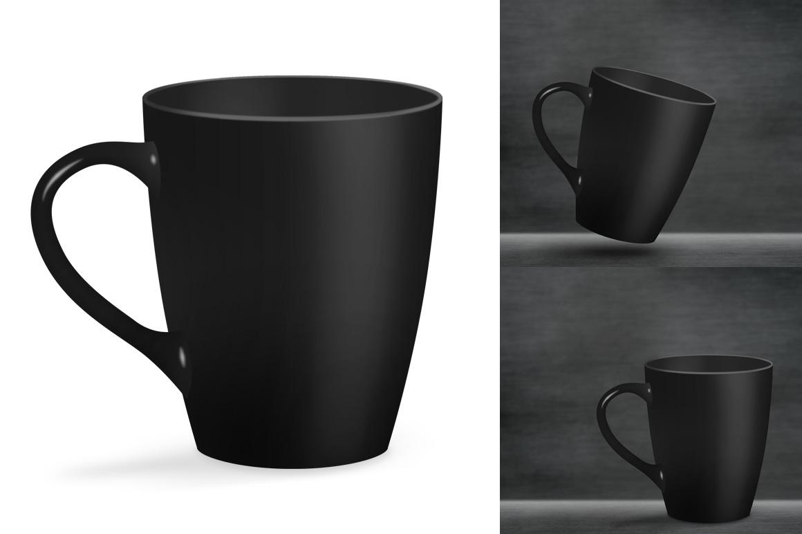 Ceramic mug mockup. Product mockup. example image 2