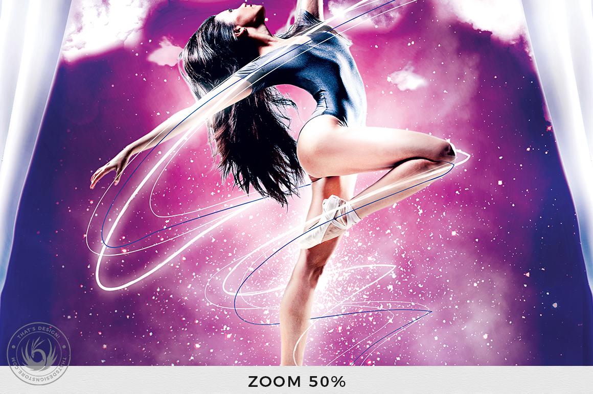 Dance Ballet Flyer Template V1 example image 7