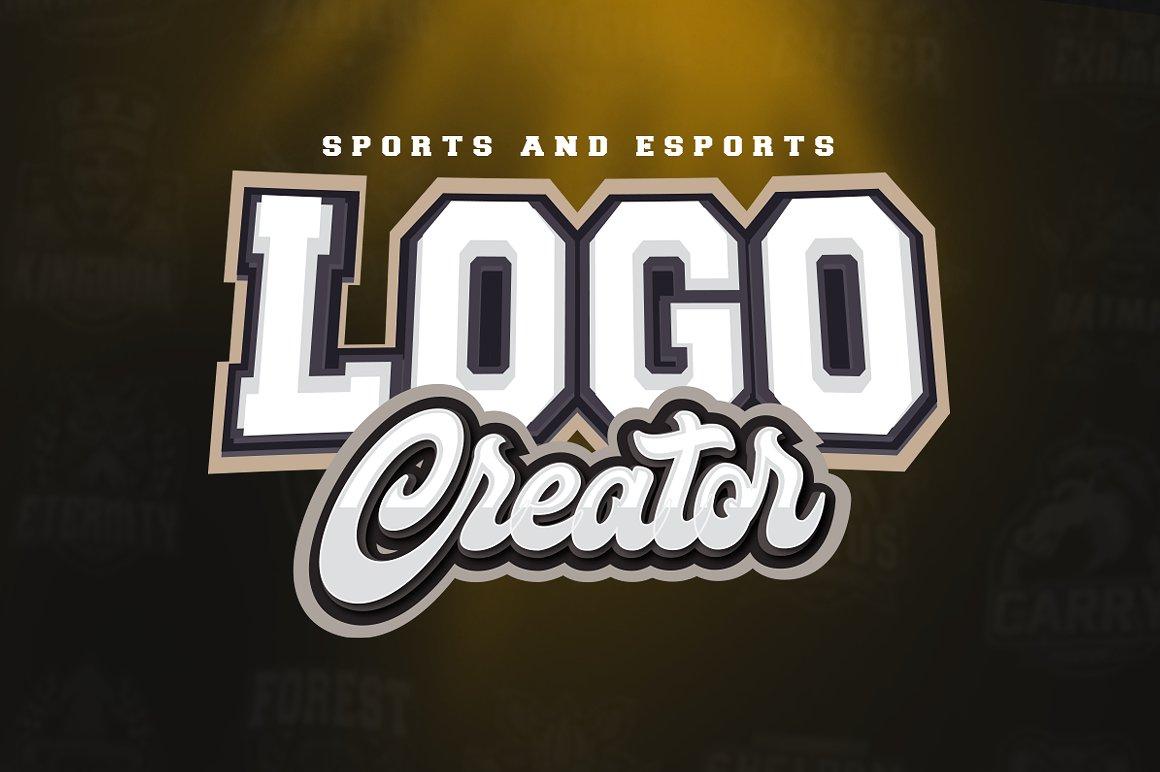 Sports And Esports Logo Creator 184743 Logos Design Bundles