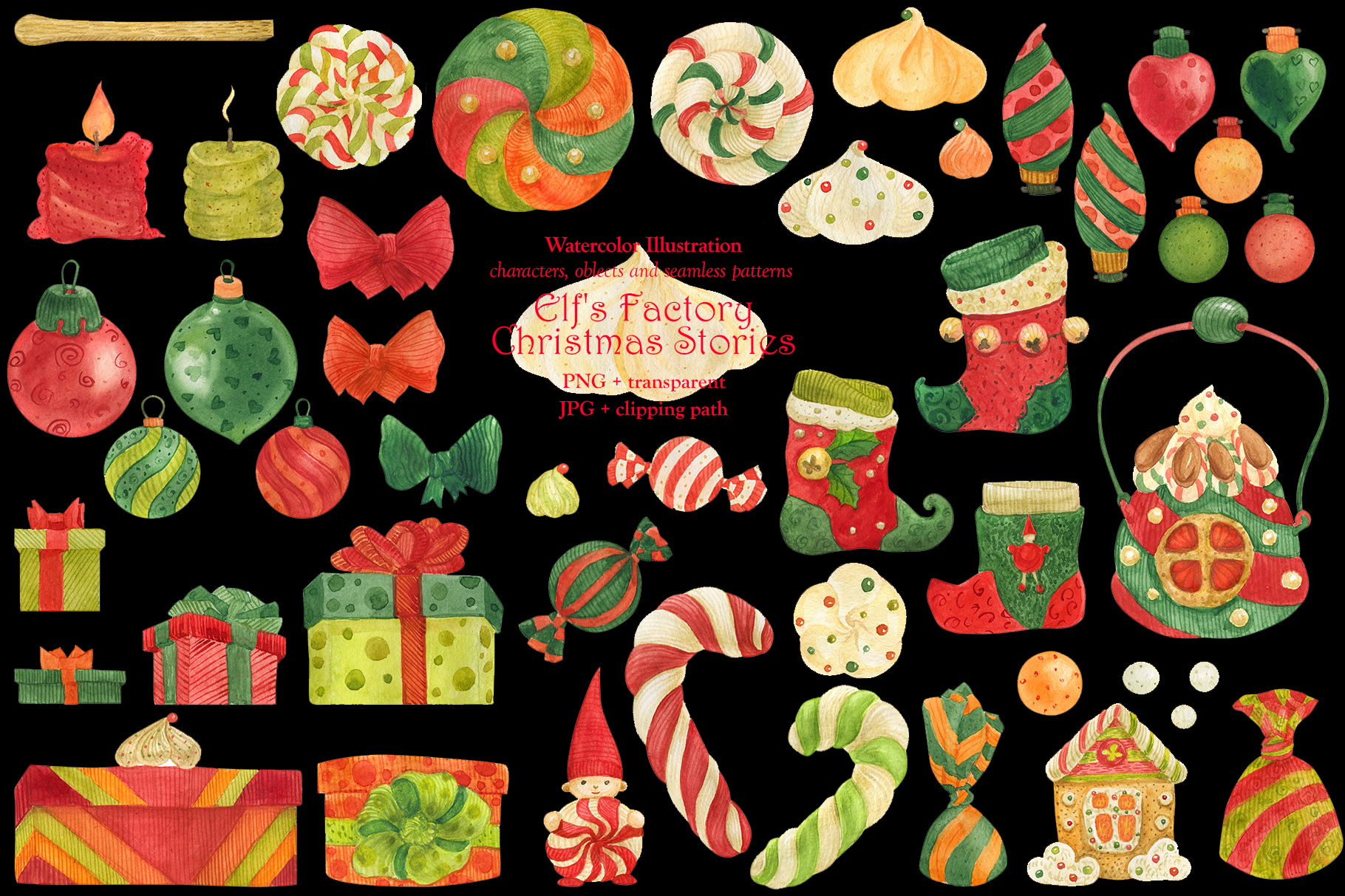 Elf's Factory Christmas Stories example image 13