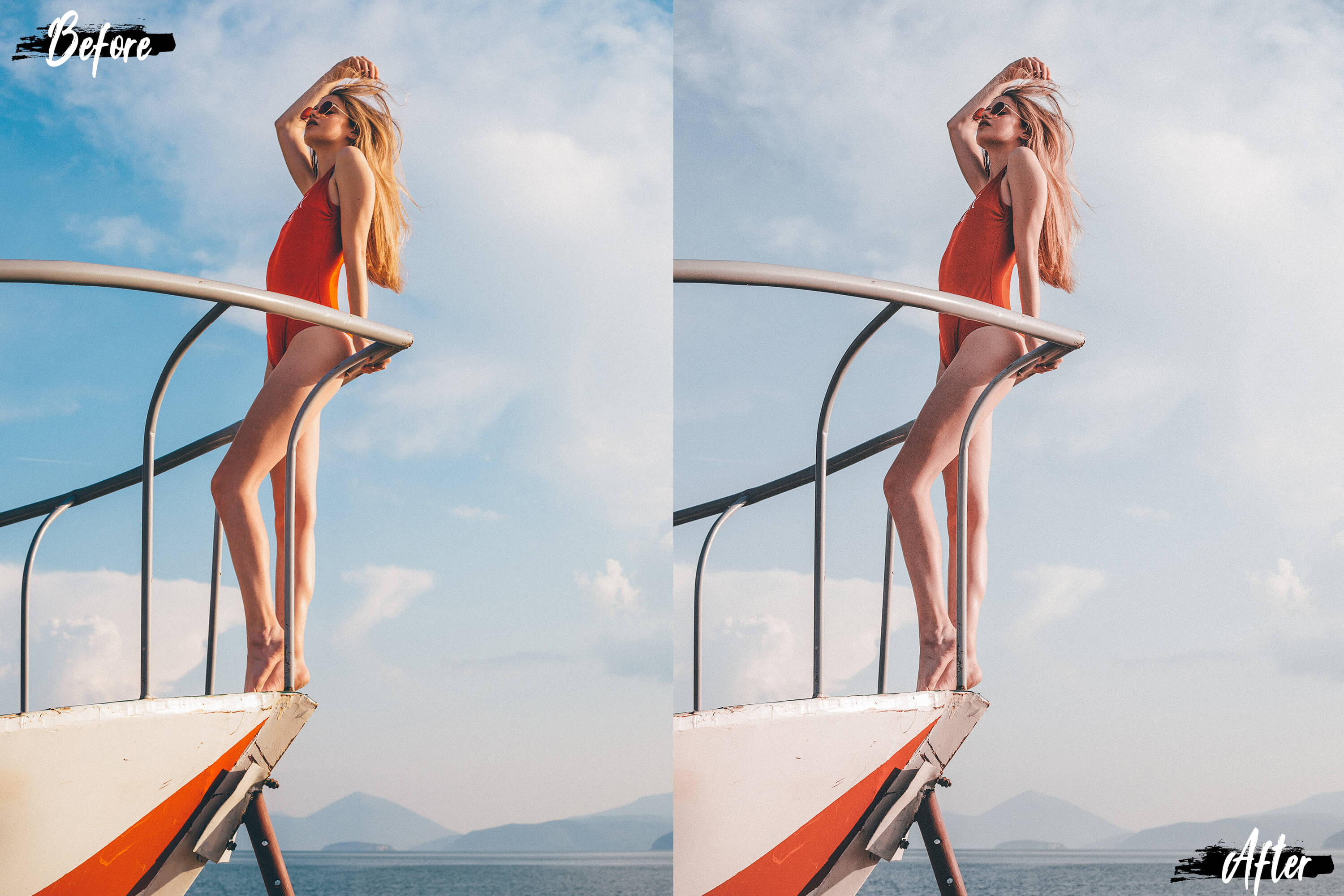 Neo Languid Blue Theme Color Grading photoshop actions example image 8