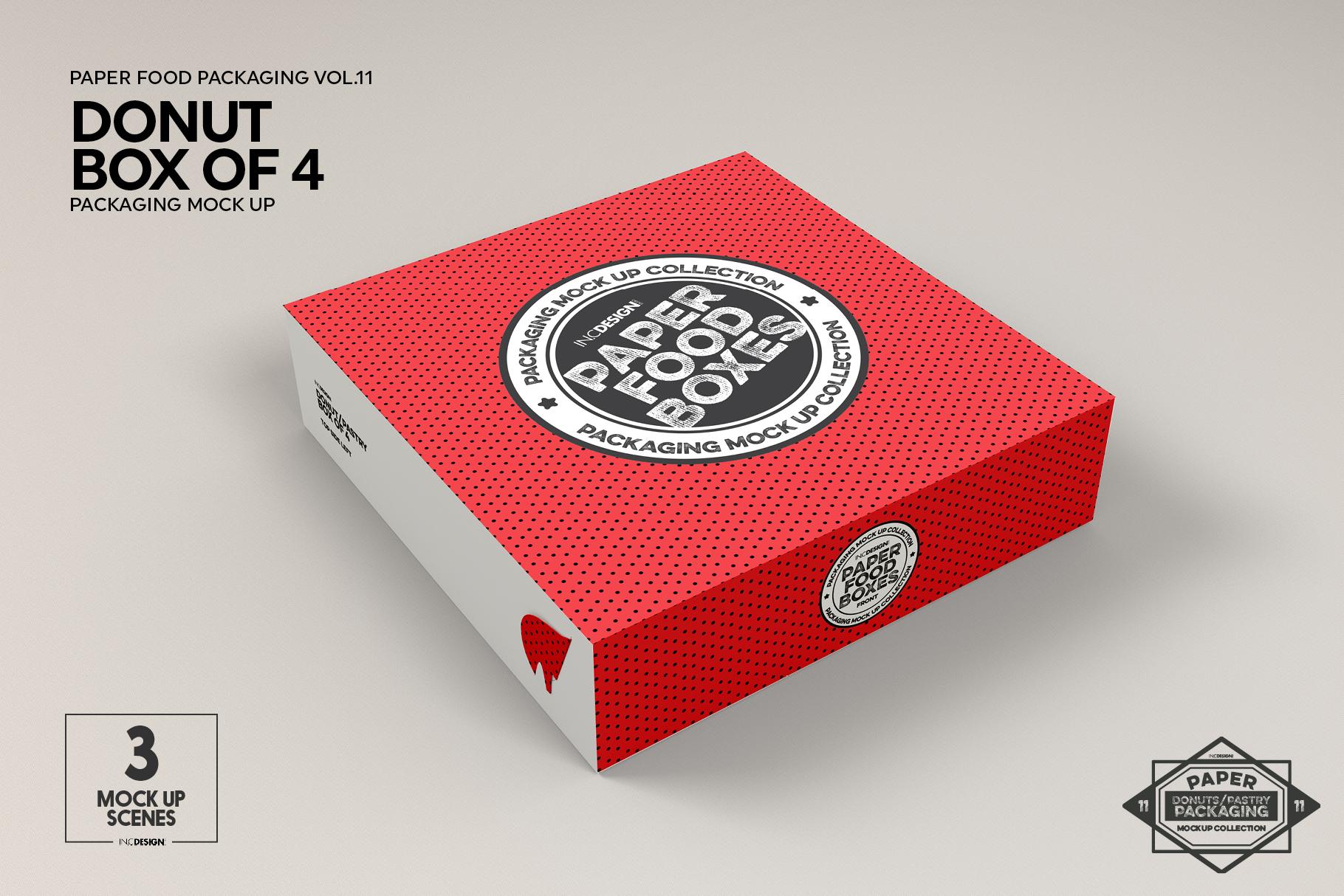 VOL.11 Food Box Packaging MockUps example image 19