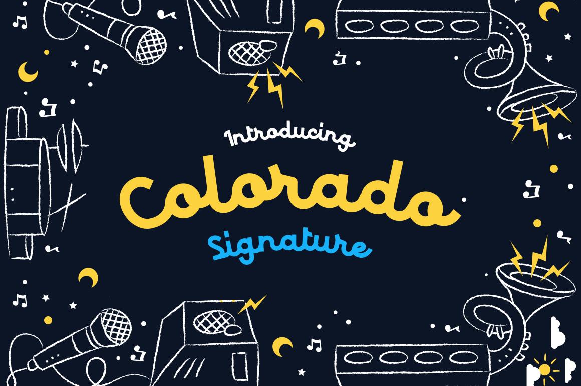 Colorado - Retro Typeface example 1