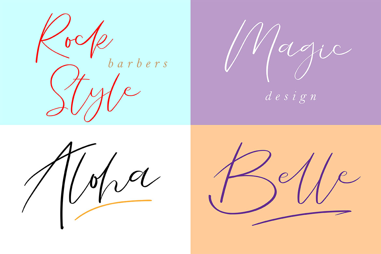 La Vista // A Stylish Modern Font example image 9