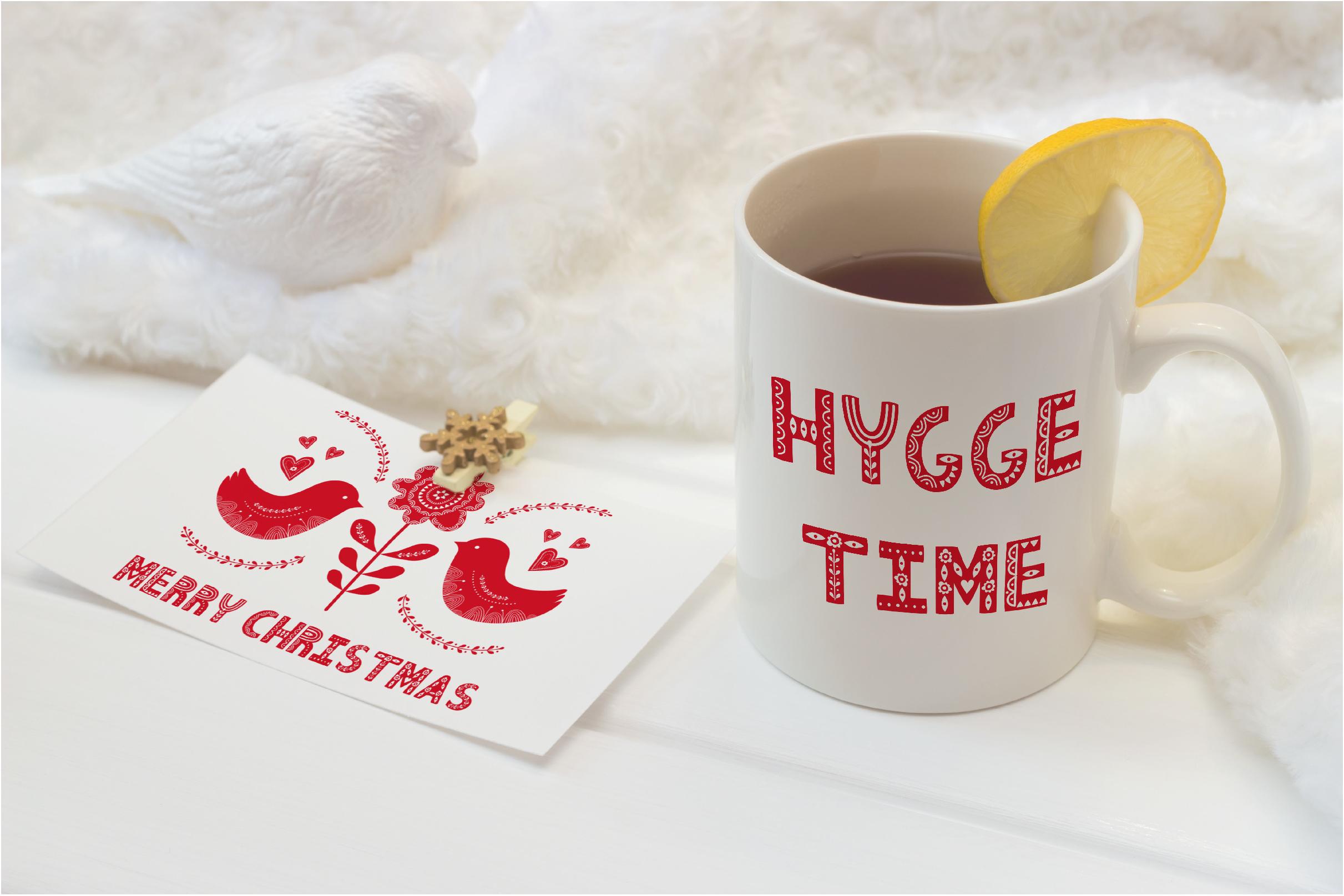 Hygge Scandinavian font example image 3