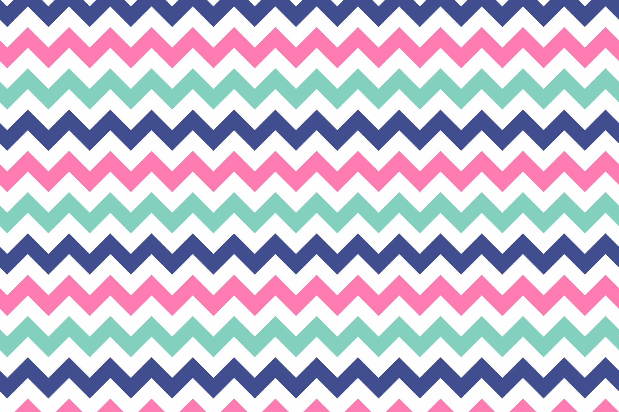 Color geometric patterns - seamless. example image 2