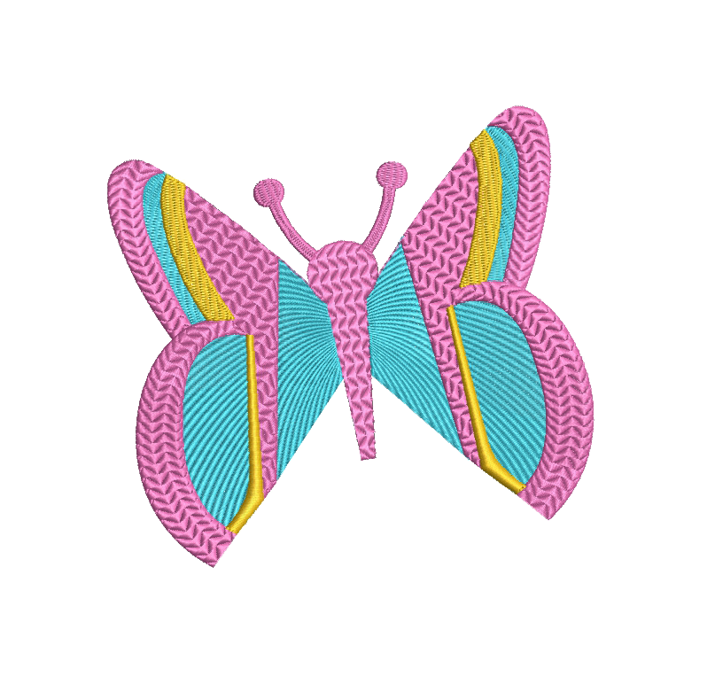 8 Butterflies Machine Embroidery designs example image 4