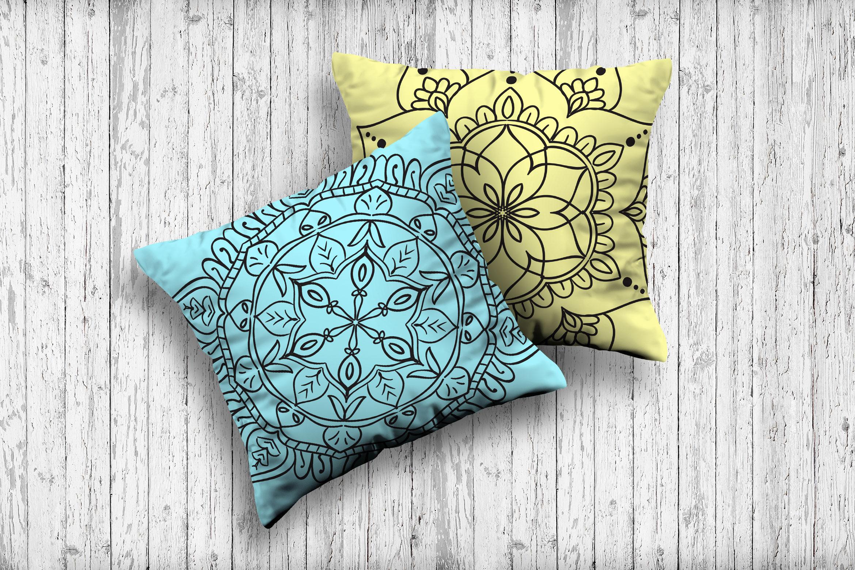 Handmade Floral Mandala Set of 25 example image 3