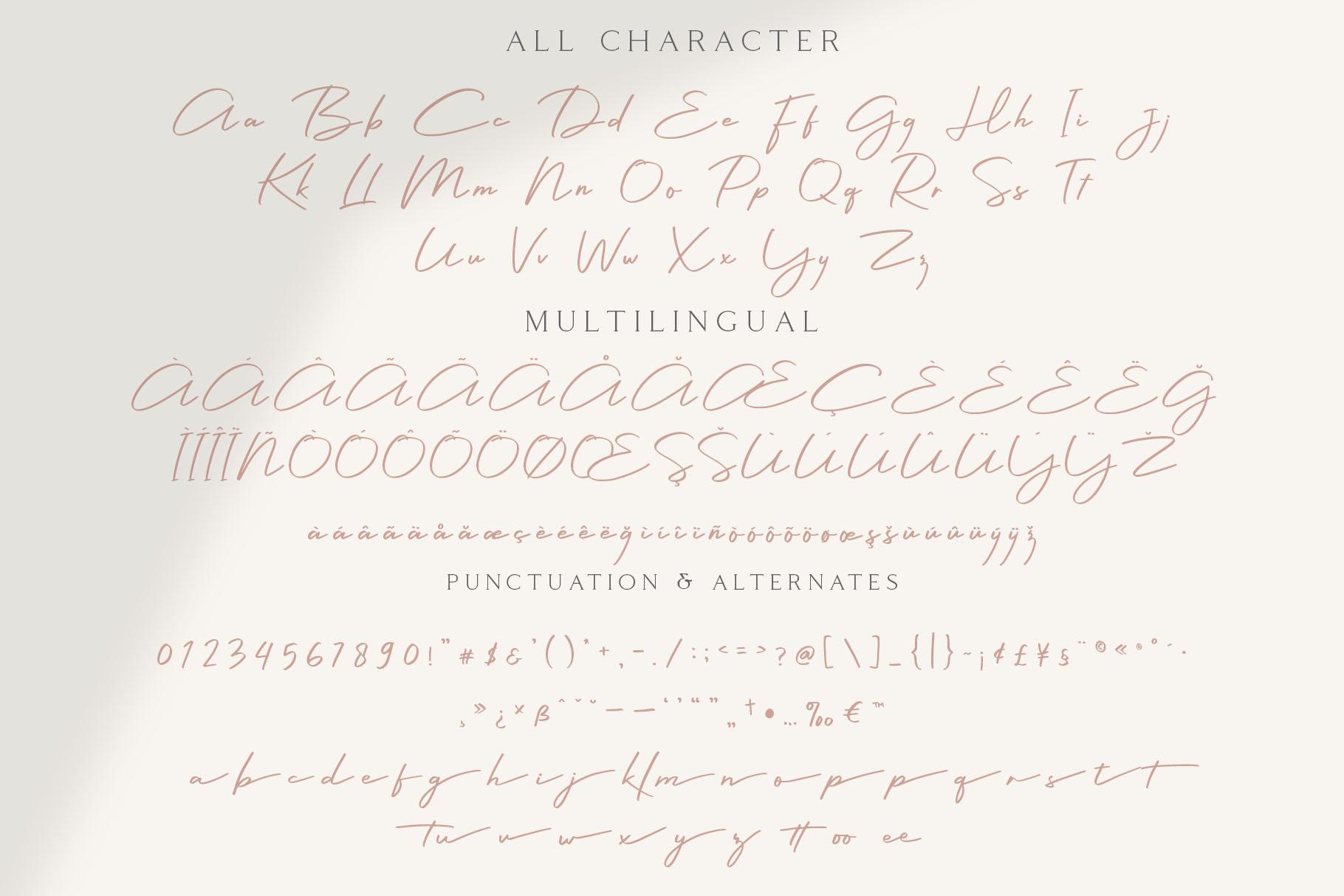 Colbiac - Casual Script Font example image 8