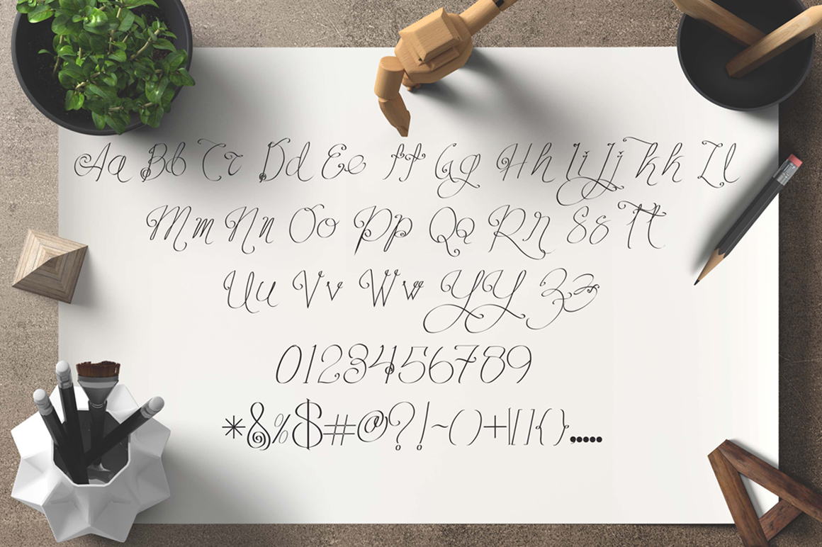 caroline typeface example image 2