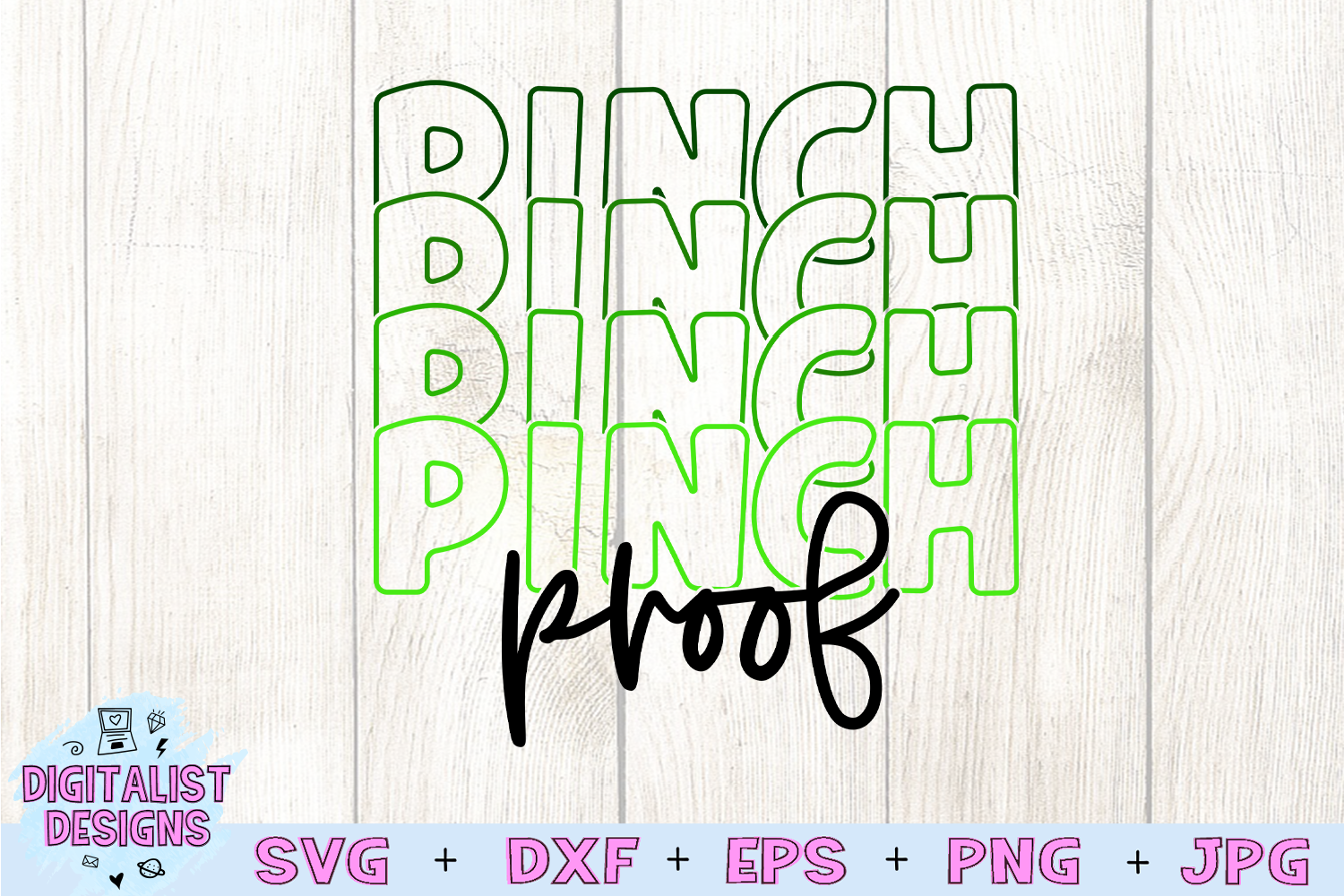 Pinch Proof SVG | St. Patrick's Day SVG example image 3