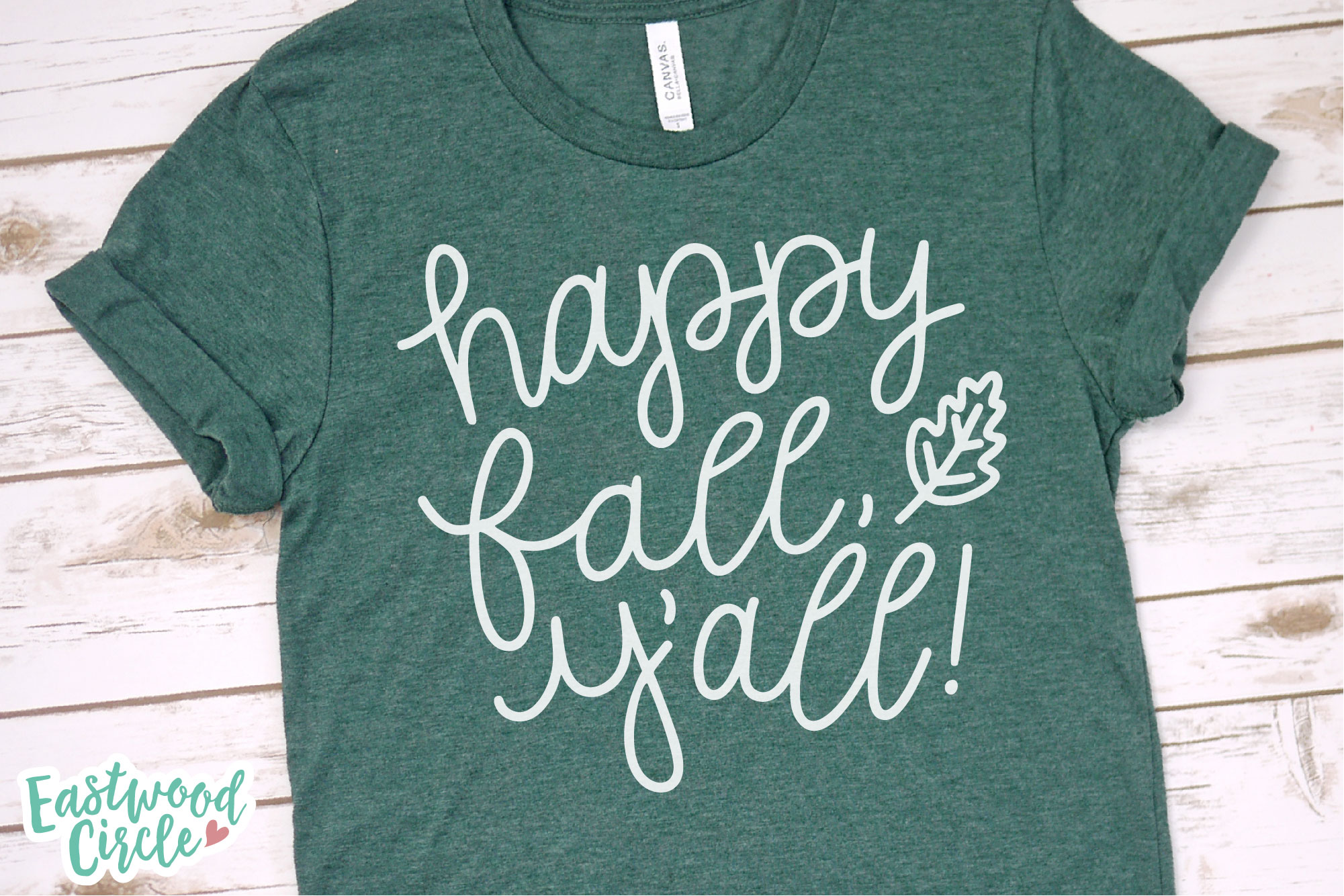 Fall SVG Bundle - Cut Files for Shirts example image 8