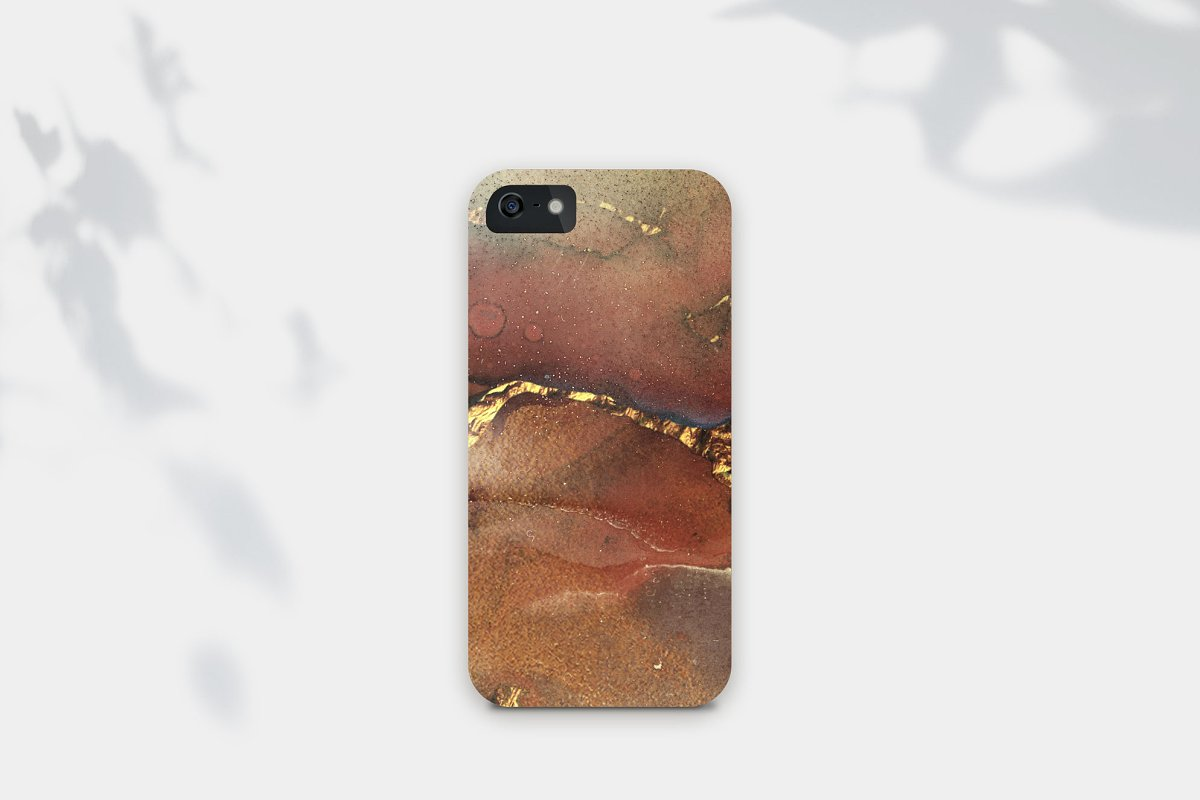 Gold Watercolor and Foil JPG-PNG Textures-BUNDLE example image 11