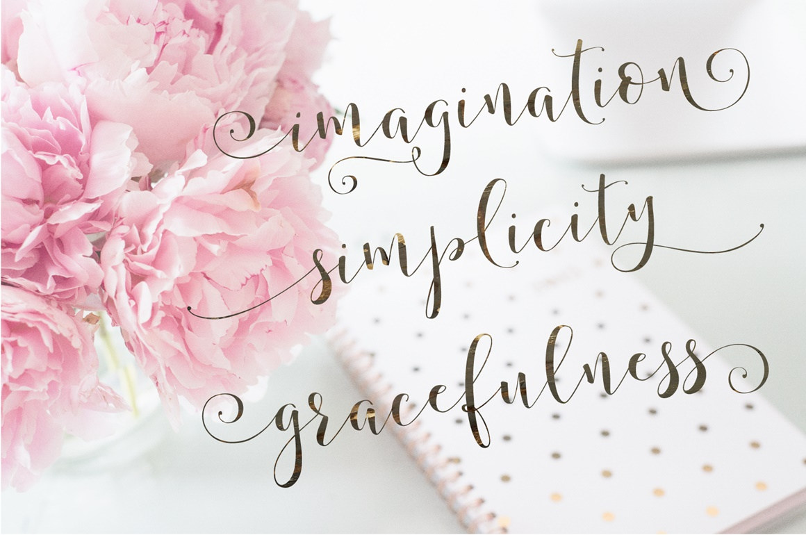 Storybook Calligraphy example image 3