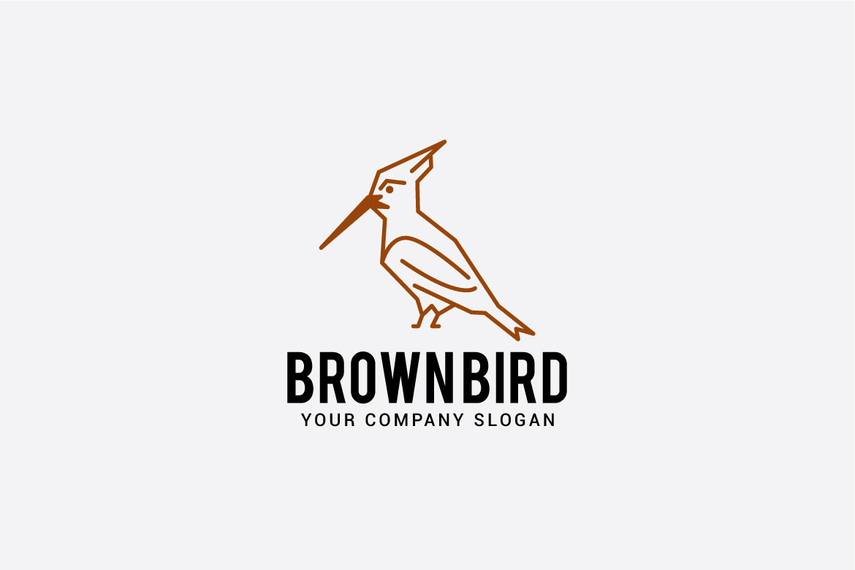 brown bird logo example image 4