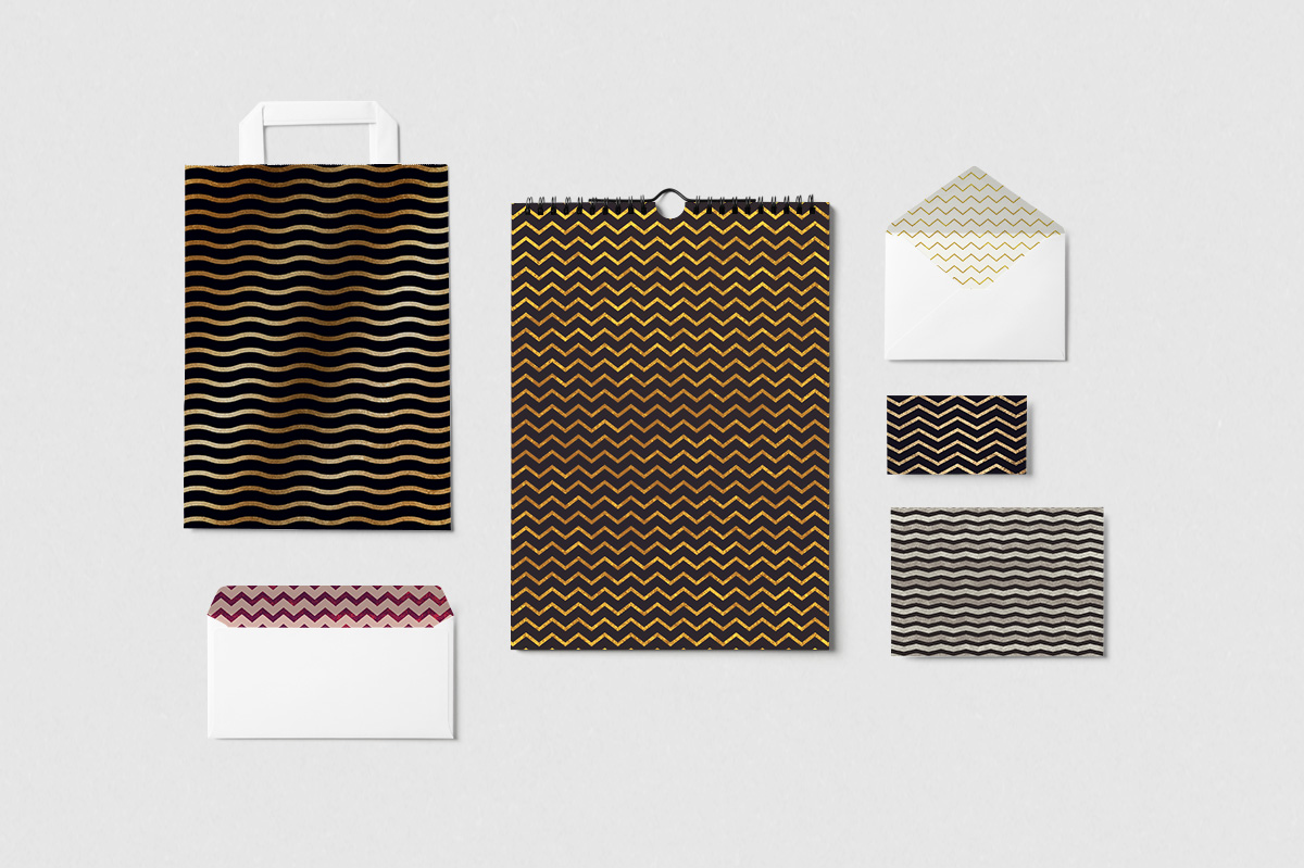 Chic Chevron Backgrounds example image 5