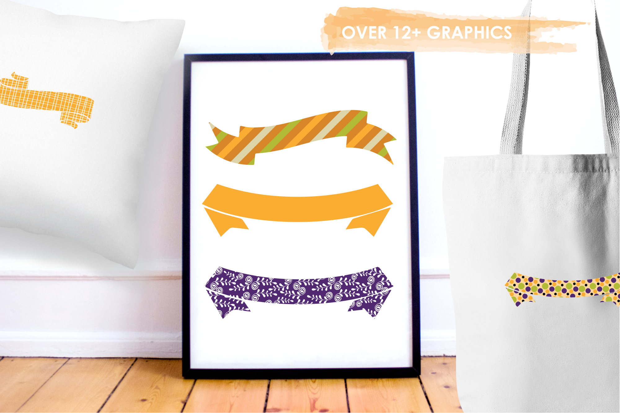Halloween Banners graphics and illustrations example image 5