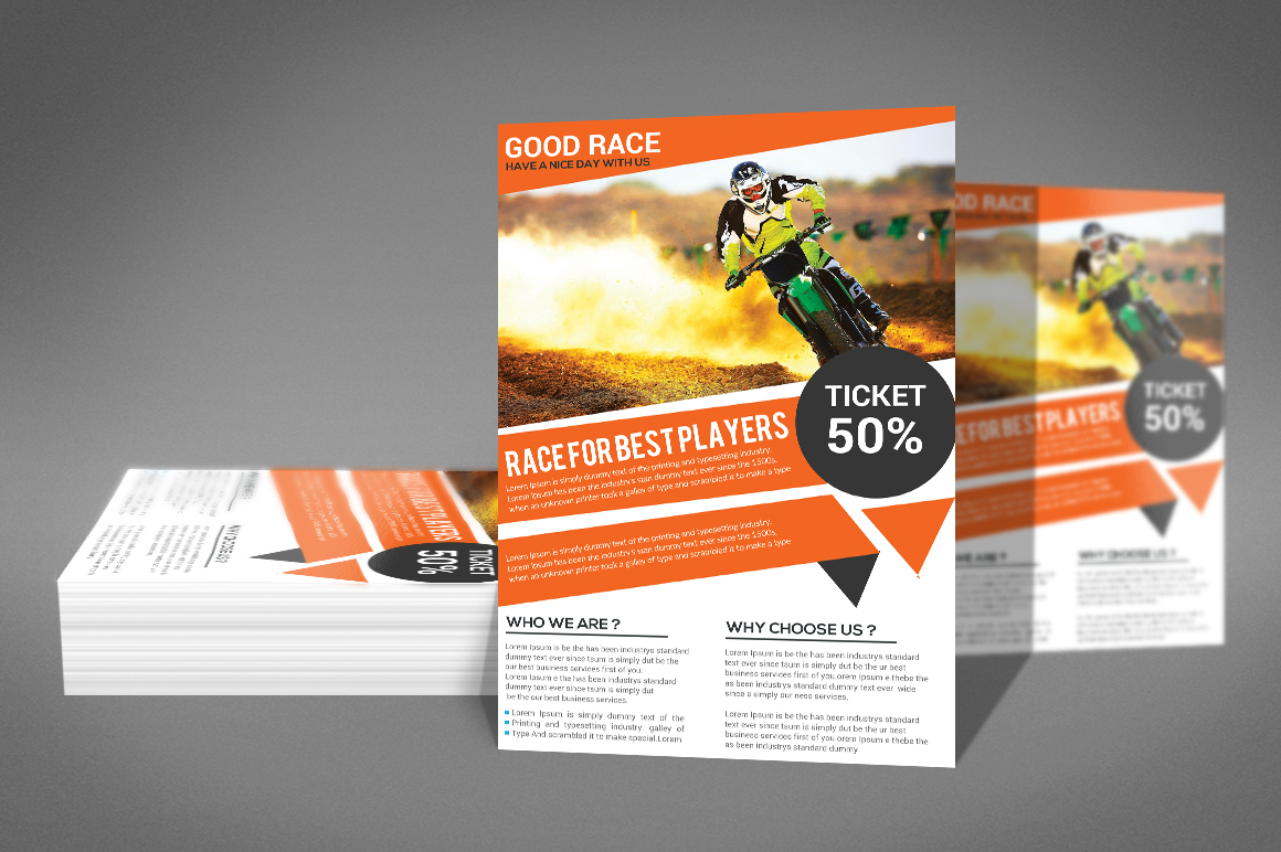 Motor Cycle Flyer example image 3