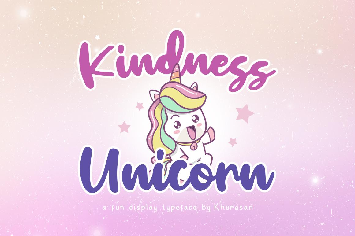Kindness Unicorn example image 1