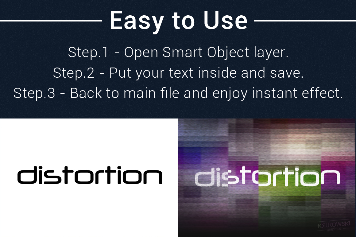 Digital Distortion Text Effects example image 5