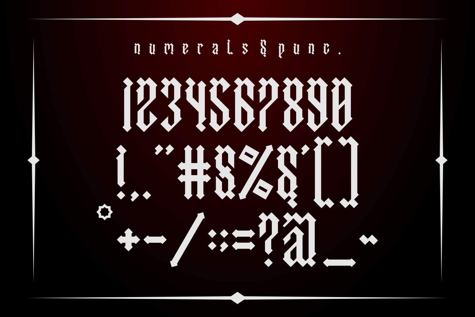 Asmodeus - Blackletter example image 4