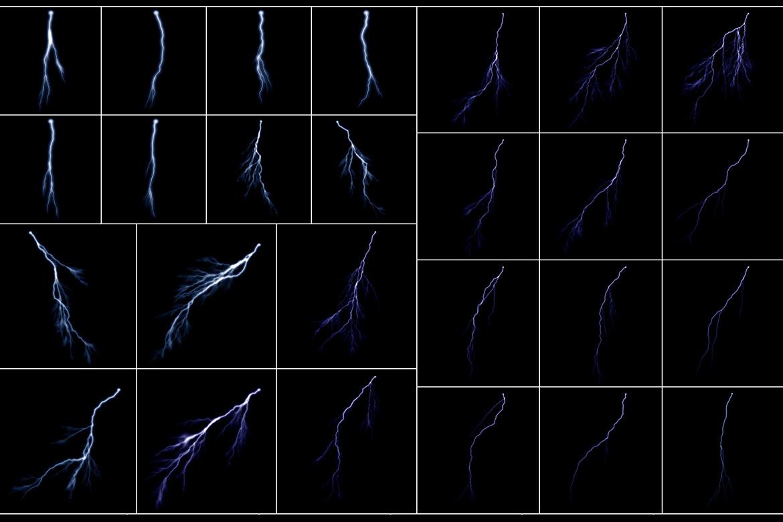 100 Lightning Overlays Vol. 1 example image 5