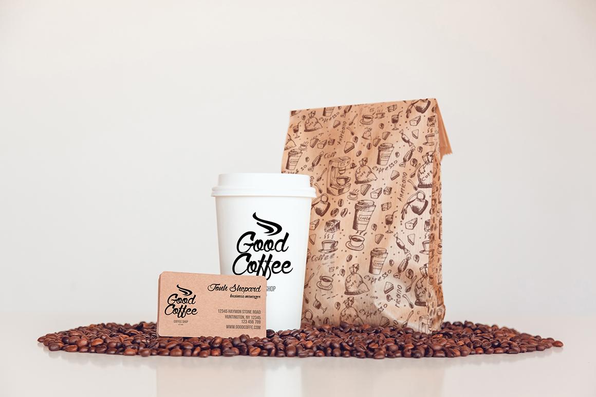 Coffee Branding Mock-up example image 4