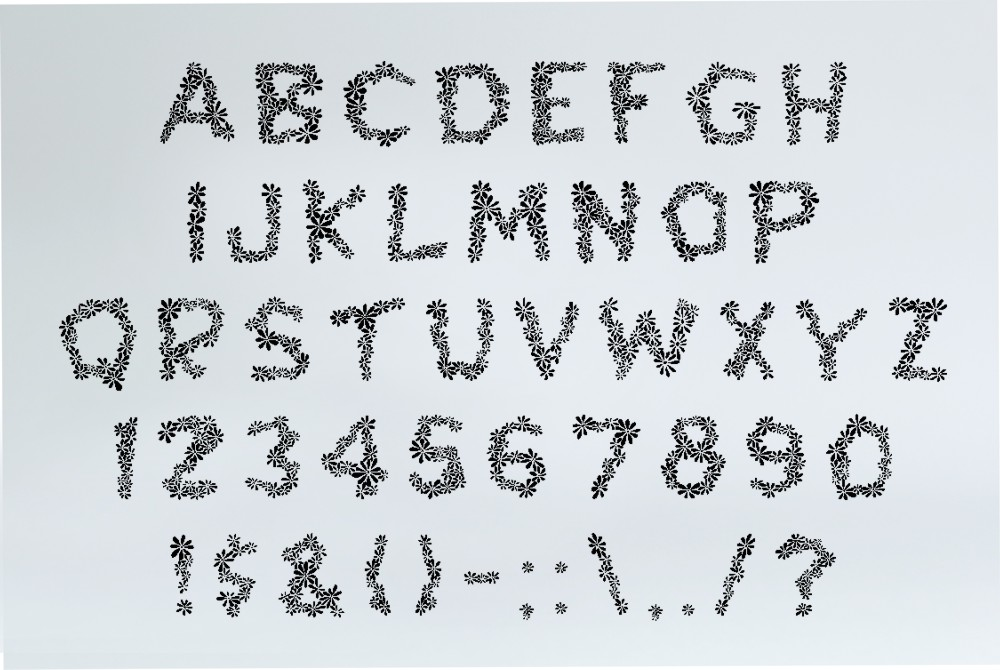 Chamylle font example image 5