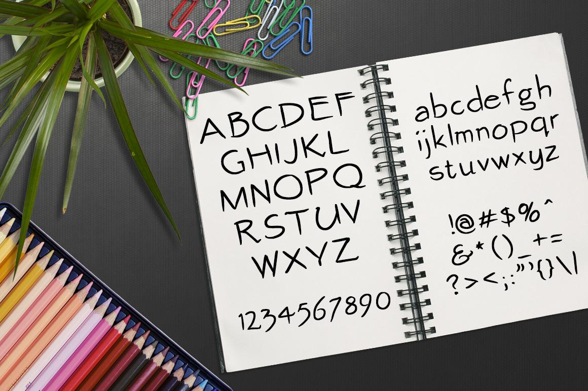 Font No.7, No.8 and No.9 example image 10