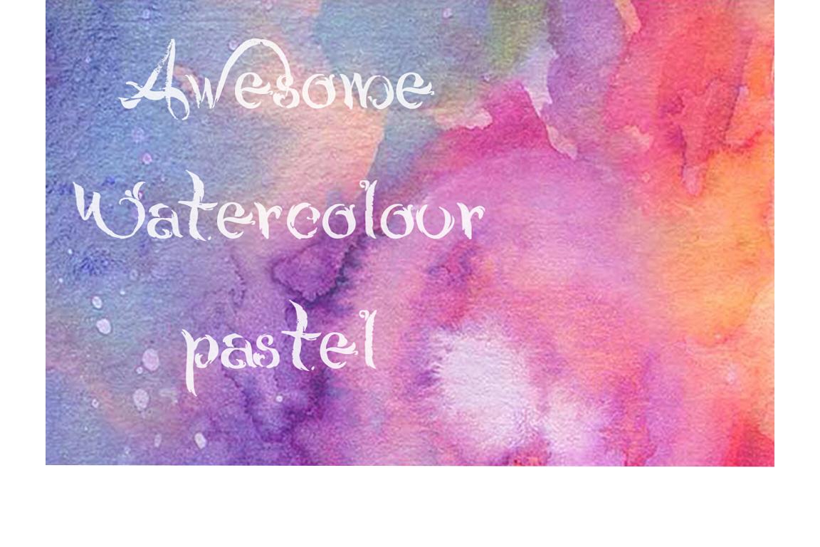 Watercolor display
