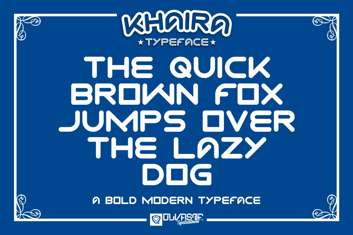 KHAIRA TYPEFACE example image 9