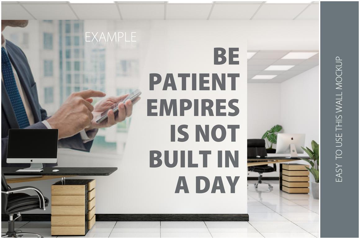 OFFICE Wall Mockup Bundle example image 10