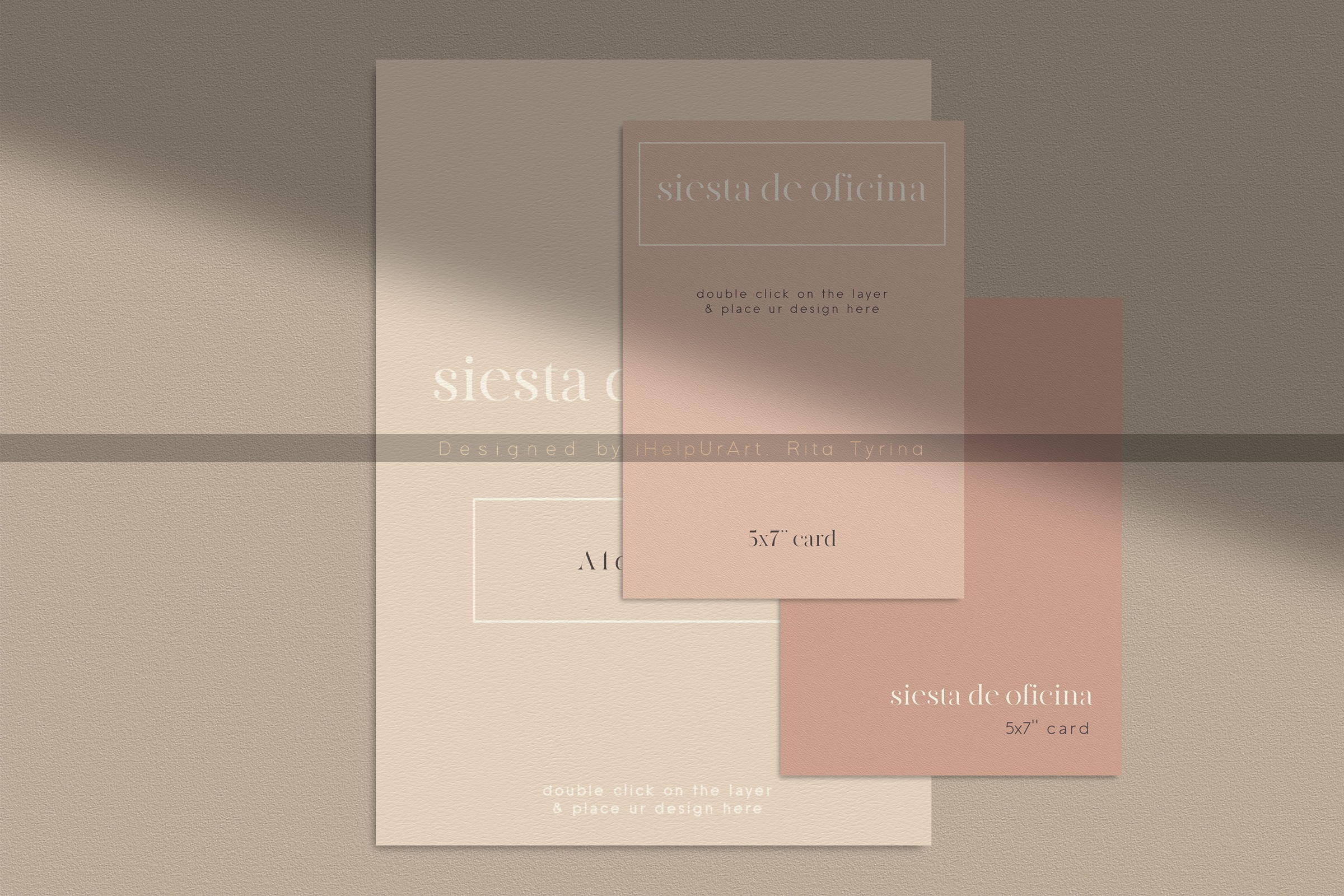 Stationery Scene Creator - Realistic Mockup example image 7